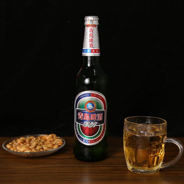 青岛冰醇啤酒 600ml/瓶