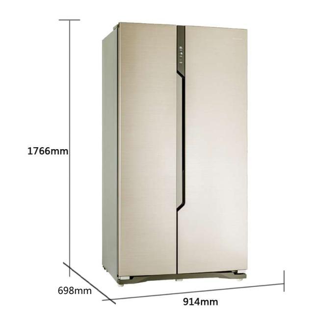 海信(hisense) bcd-565wt/b 565升 对开门 冰箱