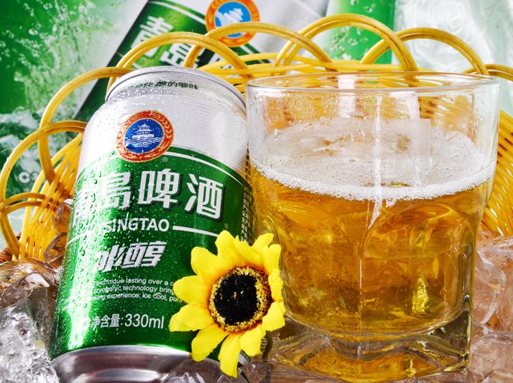 青岛啤酒冰醇330ml*12听/箱 品牌:青岛(tsingtao) 包装:箱装 种类:黄