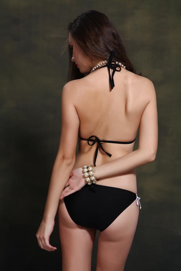 手工编绳版大码 品牌: 功能:带胸垫无钢托 款式:比基尼 分体泳衣