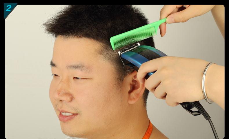 超人(sid) se7706 专业理发器 美发器 静音理发剪 超大功率(天空蓝